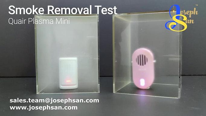 QUAIR Plasma Mini Smoke Removal Test