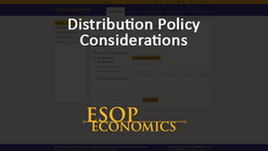 Distribution Policy Considerations