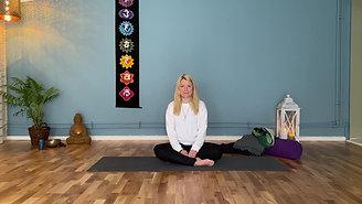 """Yin Yoga 15 min """"Liggande pass för att komma närmare dig själv"""""""