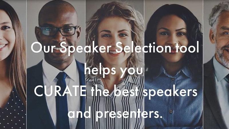 Speaker Selection Tool