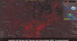 Analisis de series de tiempo de intensidad SAR