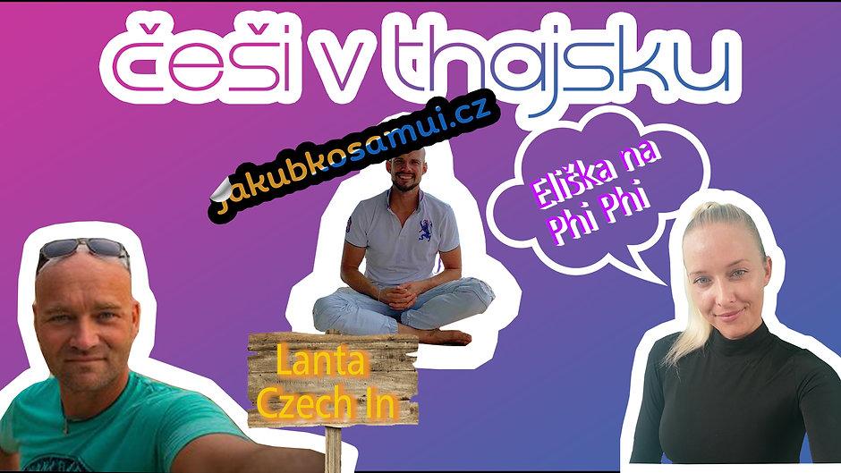 Češi v Thajsku - nová série nás co tu v Thajsku žijeme