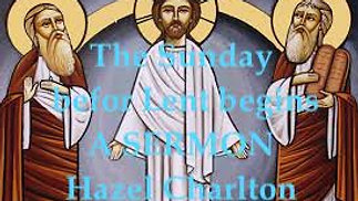 Sermon - Sunday 14th February 2021
