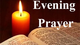 St Andrew's Day, Monday, 30th November - Evening Prayer