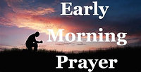 Morning Prayer, Wednesday, 5th August, 2020