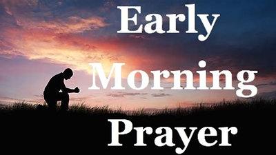 Friday 29th May 2020 Morning Prayer