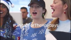 United Airlines Holiday FB Promo