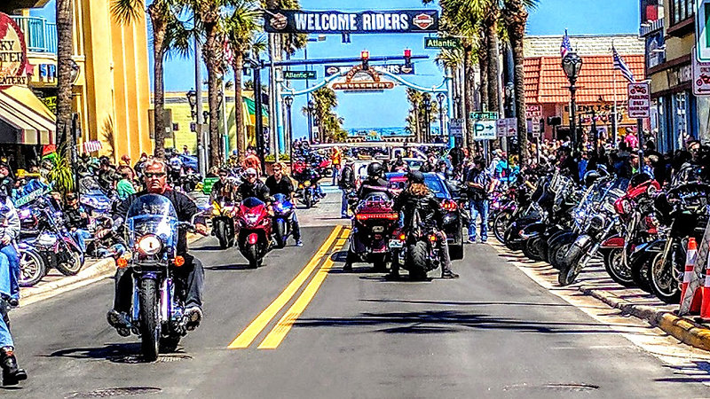 Daytona Bike Week 2020, Main Street. LIVE !!!