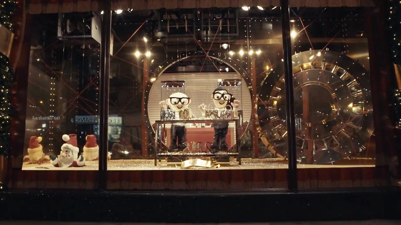 Dolce&Gabbana Windows Display at Harrods