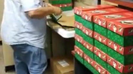 Getting Ready for OCC Shoebox Weekend