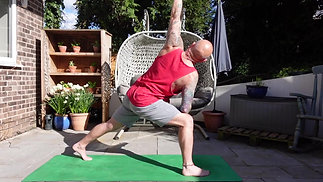 GENTLE YOGA IN THE SPRING SUNSHINE