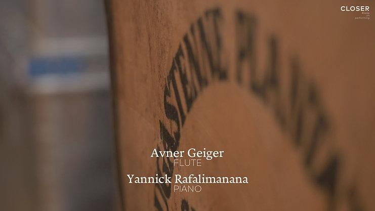 Avner Geiger & Yannick Rafalimanana