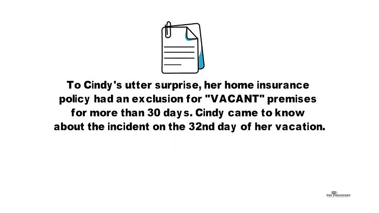 CINDY GOES ON VACATION
