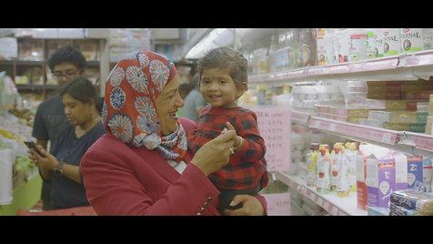 Salma Zahid's campaign video