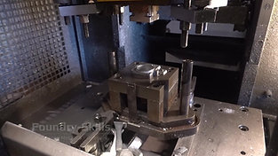 Die cutting tool in motion