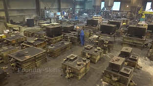Overview hand moulding shop