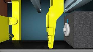 Side-Insert-Sleeve for vertical moulding lines