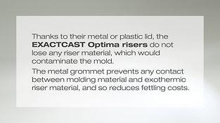 EXACTCAST Mini-Risers