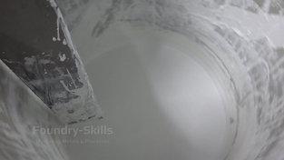 Slurry tank sword detail view