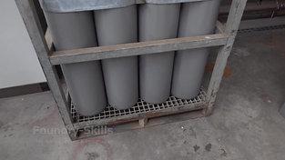Gas cylinder battery Argon