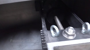 Counterweight of a centrifugal casting machine