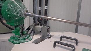 Preparation mixer for slurry detail view