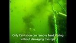 Removing Tubeworms and Marine Fouling
