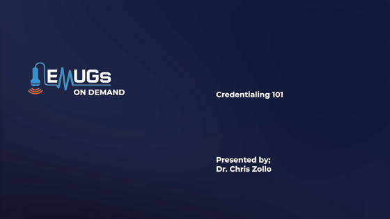 Credentialing 101