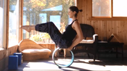 A full length practice with the Yoga Wheel