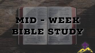 7/29/20 Wednesday Night Bible Study