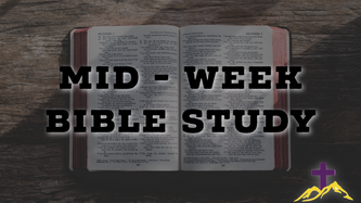9/2/20 Mid-Week Bible Study