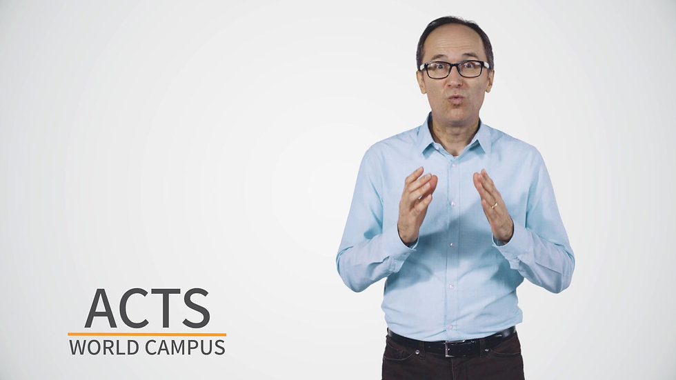 Introduction to the ACTS World Campus