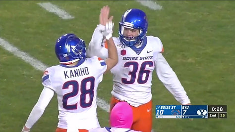 BSU @ BYU | 38-yard FG | October 19, 2019