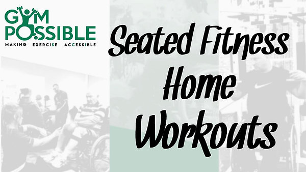 Seated Fitness Workout Of The Week