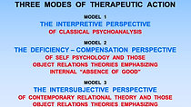 WEEK 1 Part 2 – Three Modes of Therapeutic Action