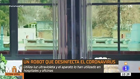 UVD Robot Spanish News