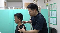 ② 小胸筋を緩めて同側の首を緩める