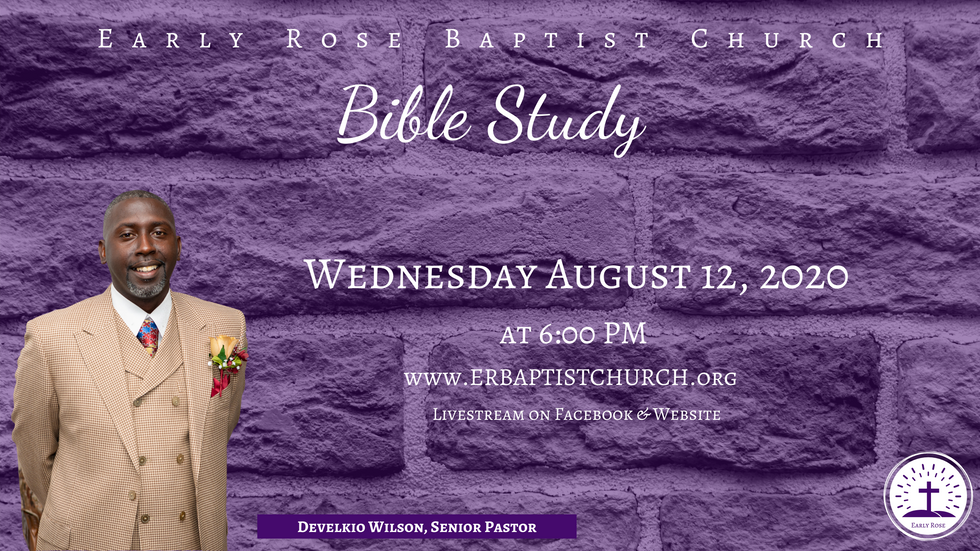 Bible Study: August 12, 2020