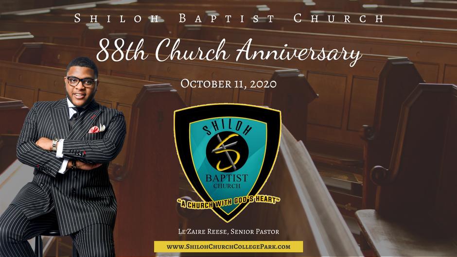 88th Church Anniversary