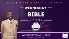 Bible Study: May 13, 2020