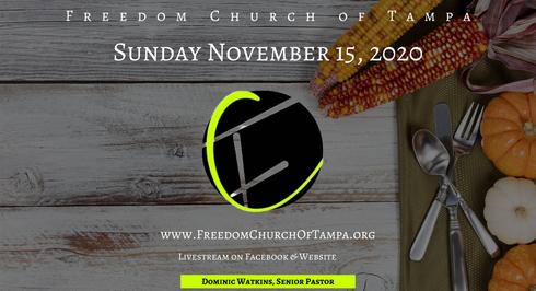Sunday November 15, 2020