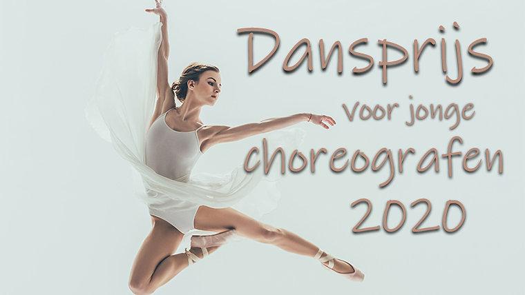 Dansprijs voor jonge choreografen 2020