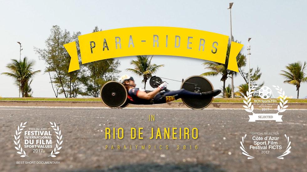 Para-Riders in Rio de Janeiro, Paralympics 2016