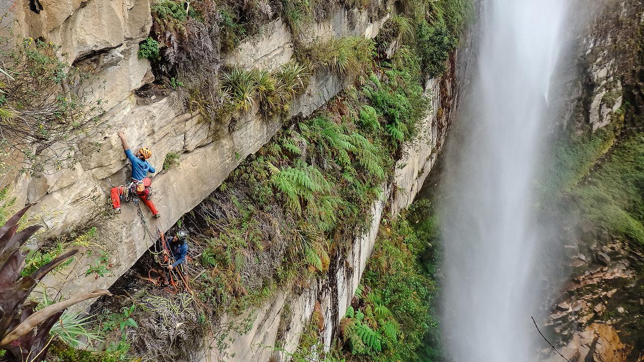 CLIMBING   YAKUMAMA Pou Brothers Expedition in Peru