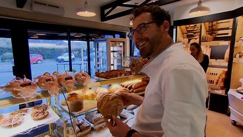Kouign-amann framboise et gâteau breton