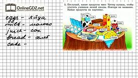 Учим продукты питания на английском языке