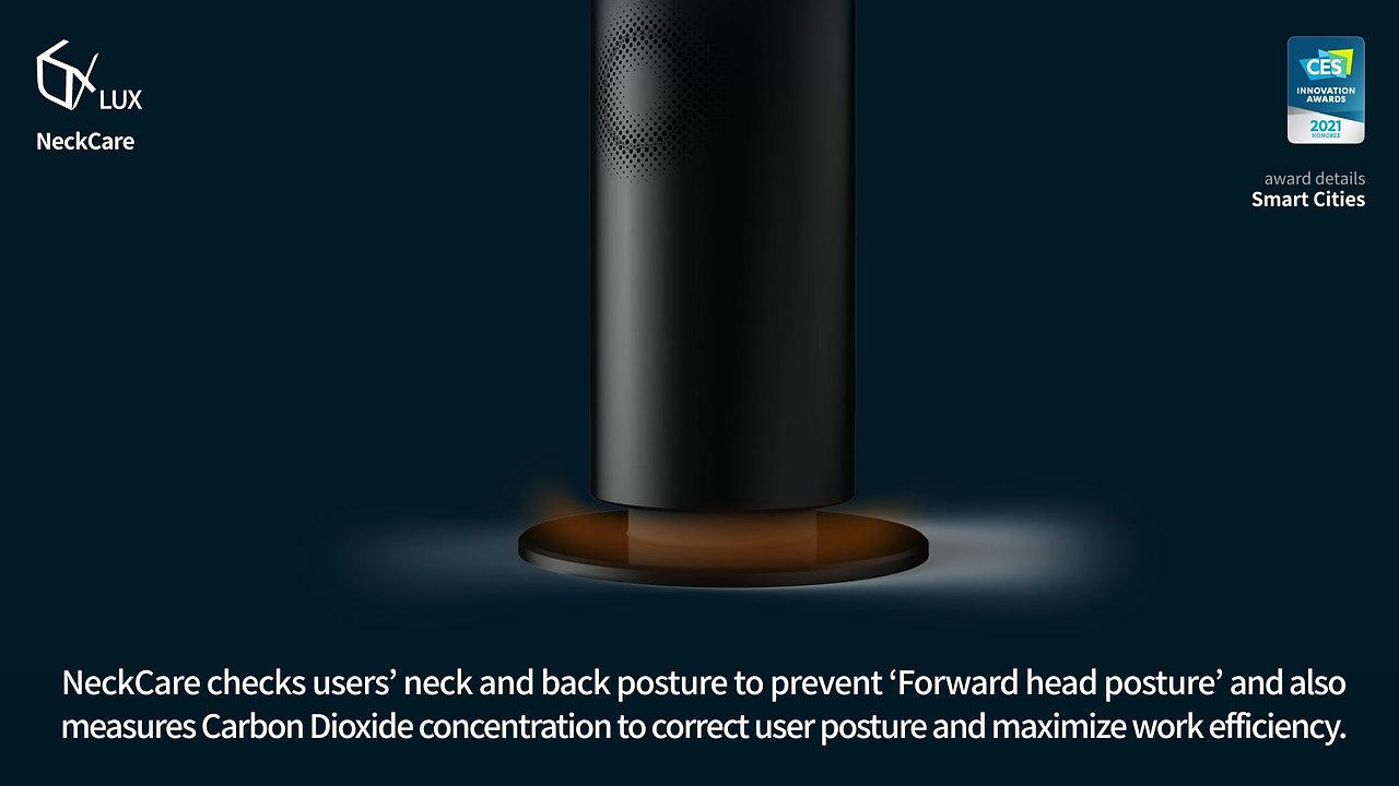 LUX NeckCare LiDAR Posture analysis device