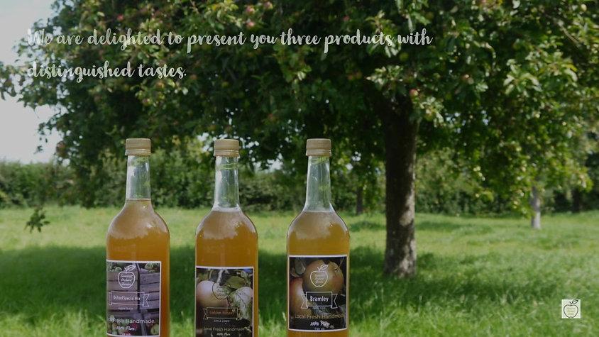 Somerset Orchard Garden Apple Juice