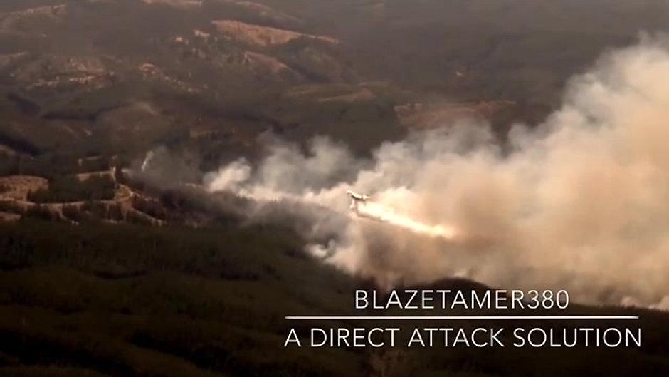 BLAZETAMER380 Live Aerial Drops