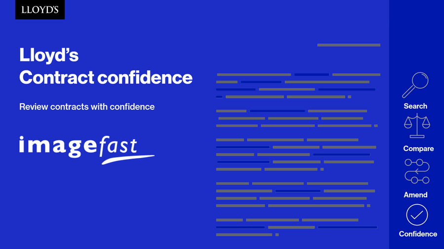 Lloyd's Contract Confidence Tool Training Videos